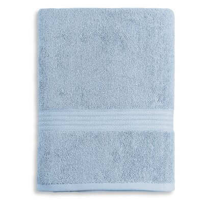 Bliss Egyptian Quality Cotton Luxury Bath Towel Color: Smoke Blue
