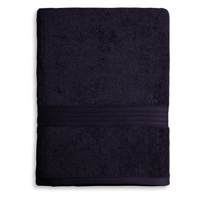 Bliss Egyptian Quality Cotton Luxury Bath Sheet Color: Plum