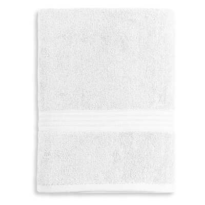 Bliss Egyptian Quality Cotton Luxury Bath Towel Color: White