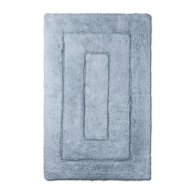 Bliss Egyptian Quality Cotton Luxury Bath Mat Color: Smoke Blue