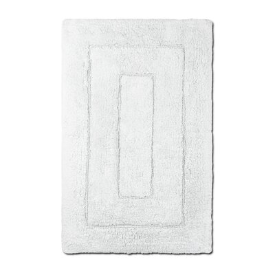 Bliss Egyptian Quality Cotton Luxury Bath Mat Color: White