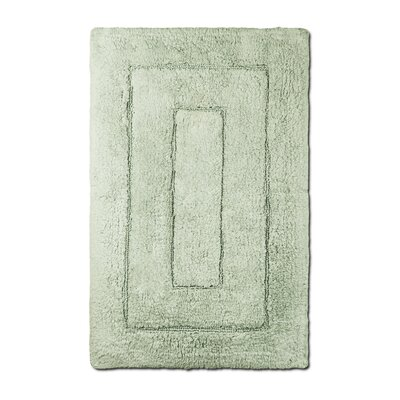 Bliss Egyptian Quality Cotton Luxury Bath Mat Color: Celery