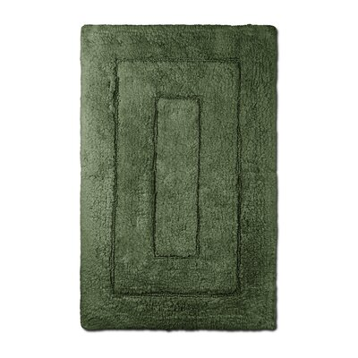 Bliss Egyptian Quality Cotton Luxury Bath Mat Color: Moss