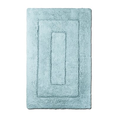 Bliss Egyptian Quality Cotton Luxury Bath Mat Color: Robins Egg Blue