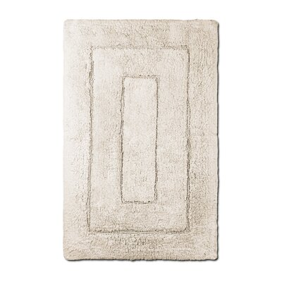 Bliss Egyptian Quality Cotton Luxury Bath Mat Color: Ivory