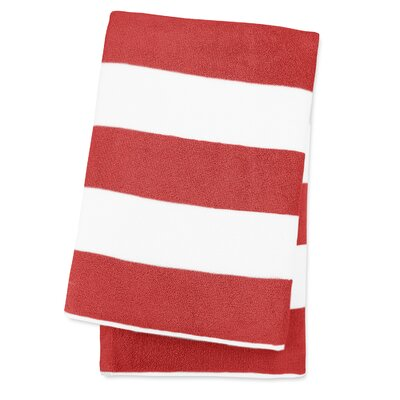 Anatalya Classic Resort Beach Towel Color: Bonfire Red