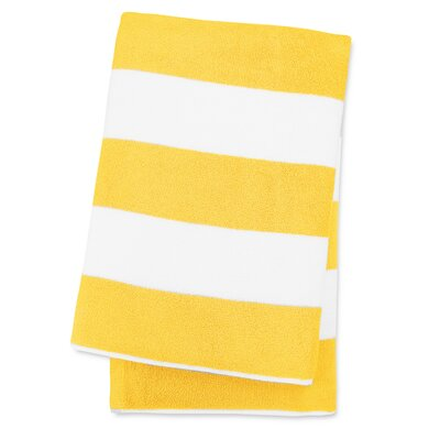 Anatalya Classic Resort Beach Towel Color: Sun Glow Yellow