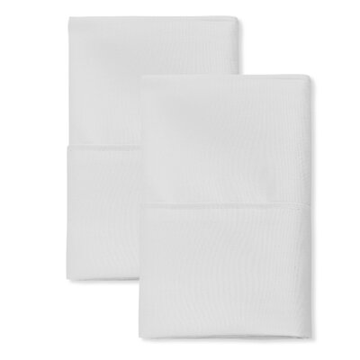 SanT Agnello Hotel Pillowcase Color: White, Size: King