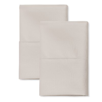 SanT Agnello Hotel Pillowcase Color: Ivory, Size: King