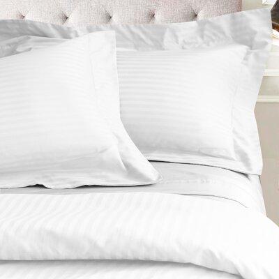 Valentino 3 Piece Duvet Set Color: White, Size: King/California King