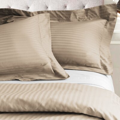 Valentino 3 Piece Duvet Set Color: Beige, Size: King/California King