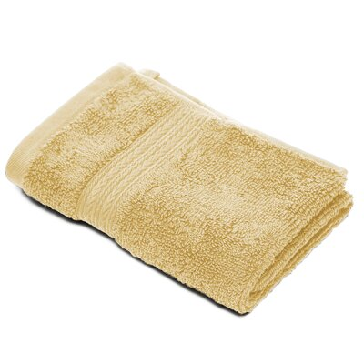 Bliss Egyptian Quality Cotton Luxury Wash Cloth Color: Gold