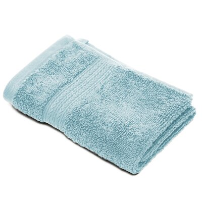 Bliss Egyptian Quality Cotton Luxury Wash Cloth Color: Robins Egg Blue
