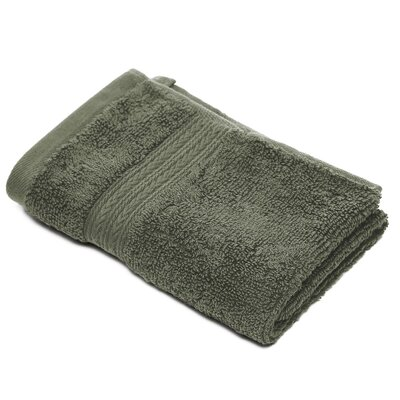 Bliss Egyptian Quality Cotton Luxury Wash Cloth Color: Moss