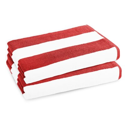 Classic Resort Beach Towel Color: Bonfire Red