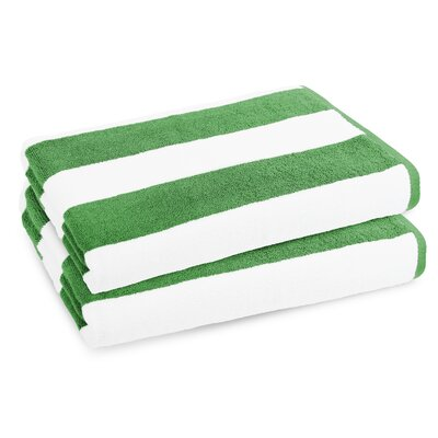 Classic Resort Beach Towel Color: Sea Grass Green