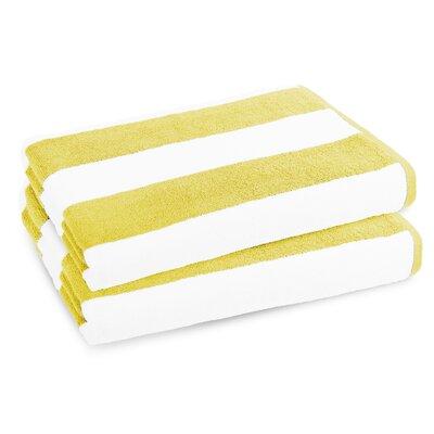 Classic Resort Beach Towel Color: Sun Glow Yellow