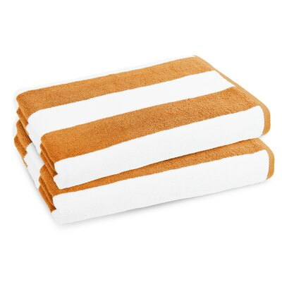 Classic Resort Beach Towel Color: Tangerine Orange