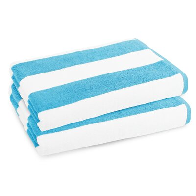Classic Resort Beach Towel Color: Turquoise