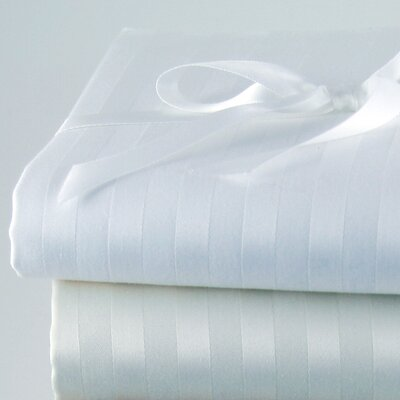 Via Frattina Italian 610 Thread Count Sheet Set Size: King, Color: White
