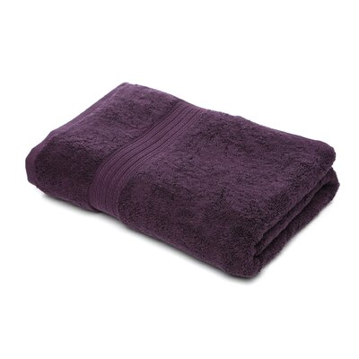 Bliss Egyptian Quality Cotton Luxury Bath Towel Color: Plum