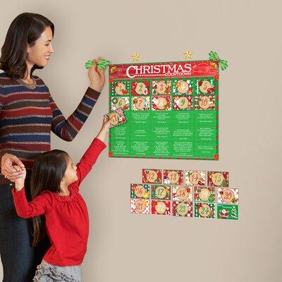 Advent Calendar Wall sticker Set