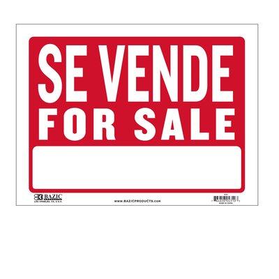 Se Vende Sign