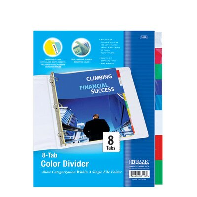 3-Ring Binder Dividers Quantity: Case of 24