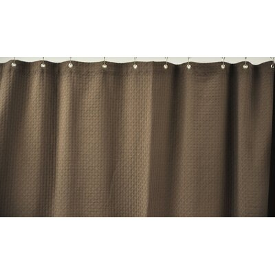 dCOR design Cotton Shower Curtain - Color: Chocolate at Sears.com