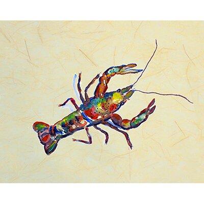 "Crayfish Doormat Rug Size: 1'6"" x 2'2"" DM986B"