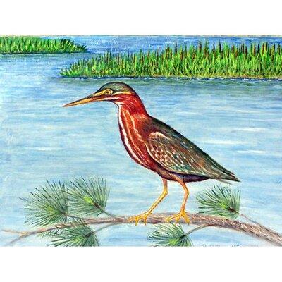 Heron II Doormat Rug Size: 26 x 42