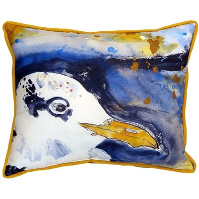 Sylvester Pelican Indoor/Outdoor Lumbar Pillow Size: Small
