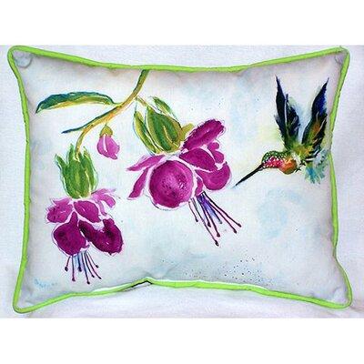 Hummingbird Indoor/Outdoor Lumbar Pillow Size: Large