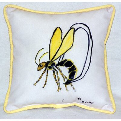 Mosquito Indoor/Outdoor Throw Pillow