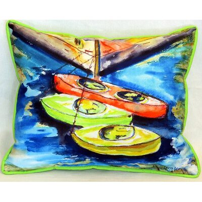 Kayak Indoor/Outdoor Lumbar Pillow Size: Large