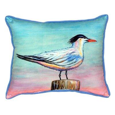 Royal Tern Indoor/Outdoor Lumbar Pillow Size: Small