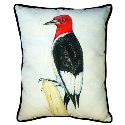 Woodpecker Indoor/Outdoor Lumbar Pillow Size: Small
