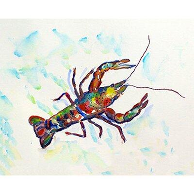 "Crayfish Doormat Rug Size: 1'6"" x 2'2"" DM986A"