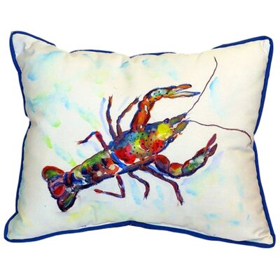 Crayfish Indoor/Outdoor Lumbar Pillow Size: Large