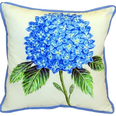 Dicks Hydrangea Indoor/Outdoor Euro Pillow Size: Large