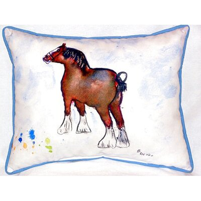 Clydesdale 24 Indoor/Outdoor Lumbar Pillow