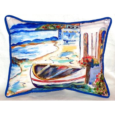 Sicilian Shore 24 Indoor/Outdoor Lumbar Pillow