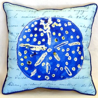Sand Dollar 22 Indoor/Outdoor Throw Pillow
