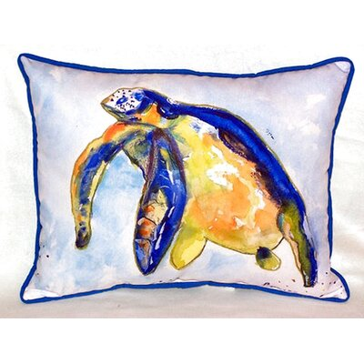 Sea Turtle Left 24 Indoor/Outdoor Lumbar Pillow