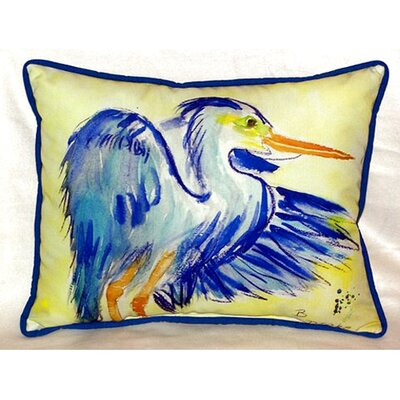 Heron 24 Indoor/Outdoor Lumbar Pillow