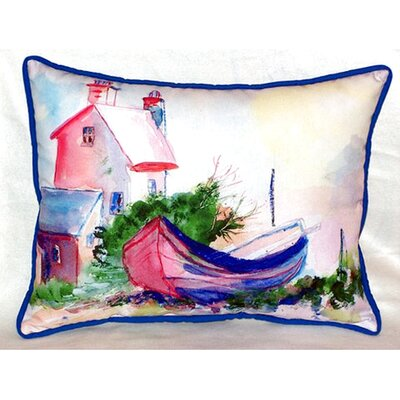 House and Boat 24 Indoor/Outdoor Lumbar Pillow