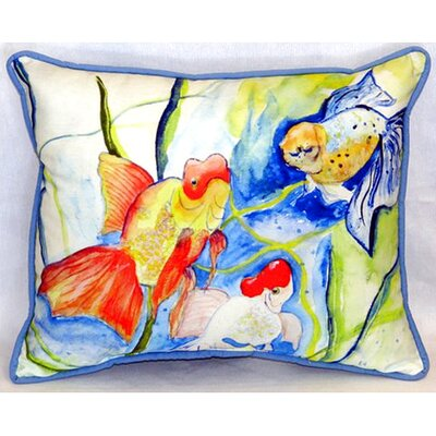 Fantails 24 Indoor/Outdoor Lumbar Pillow