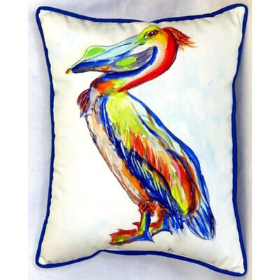 Sylvester Pelican Indoor/Outdoor Pillow Size: 16 H x 20 W