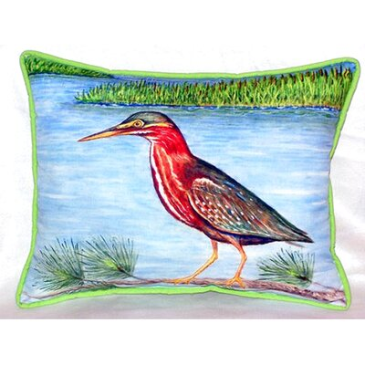 Heron II 24 Indoor/Outdoor Lumbar Pillow