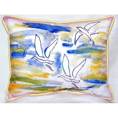 Three Gulls 24 Indoor/Outdoor Lumbar Pillow